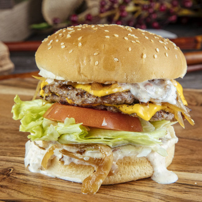 2 Stack Burger