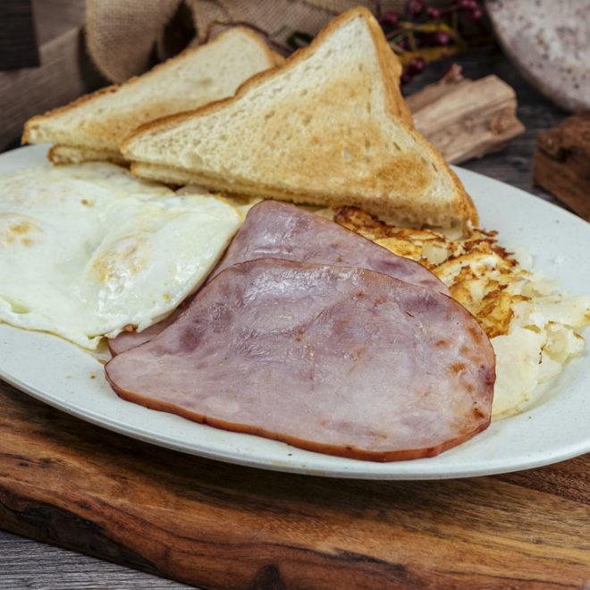 Egg and Ham Breakfast